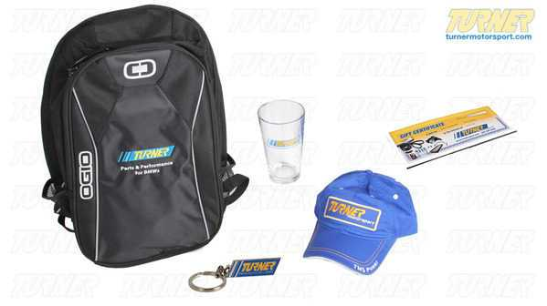 T#224325 - GP153 - Turner Loaded Backpack Gift Package - Packaged by Turner - BMW MINI