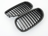 T#3238 - BM-0068 - Carbon Fiber Center Grills - E60 525i 528i 530i 535i 545i 550i M5 - Turner Motorsport - BMW