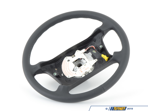 T#57467 - 32341162110 - Genuine BMW Leather Steering Wheel - 32341162110 - E34 - Genuine BMW -