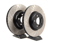 Gas-Slotted Brake Rotors (370x30) - Front - F30 335i 335xi, F32 435i 435xi (pair)