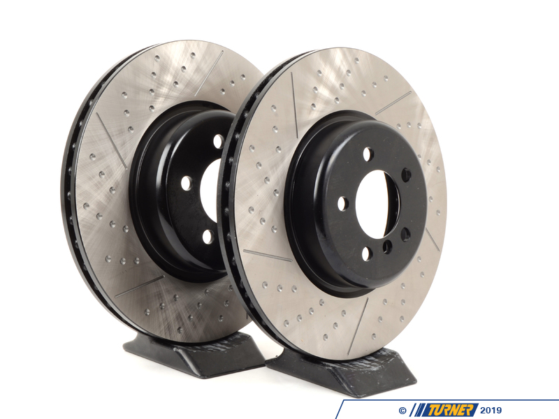 126 34142kt Gas Slotted Brake Rotors 370x30 Front