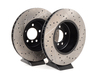 T#12036 - 34116763824CDS - Cross-Drilled & Slotted Brake Rotors - Front - E60 535/545i/550i & E63/E64 645i/650i (Pair) - StopTech - BMW