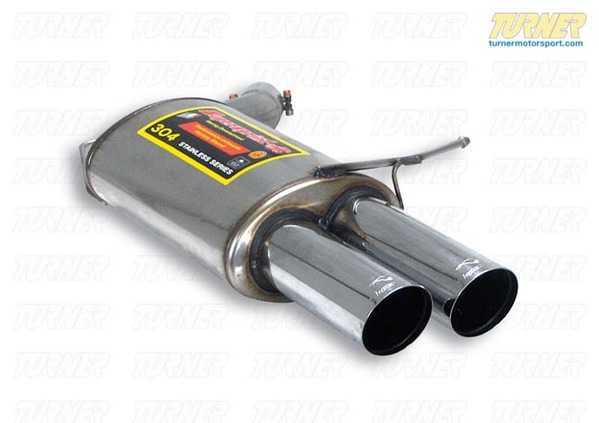 T#184421 - 044736 - E63 M6 Supersprint Stainless Left Racing Muffler - Supersprint - BMW