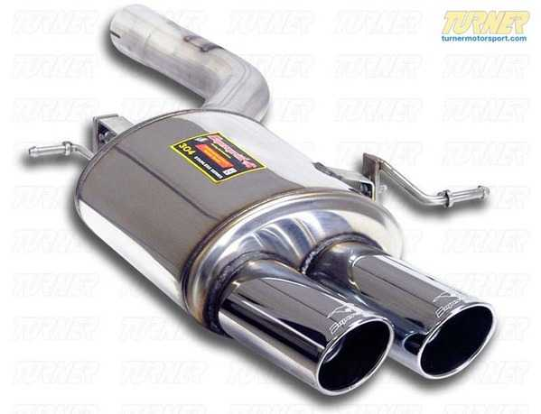 T#222791 - 983076 - F10 550i Supersprint Left Performance Muffler (2x100mm Tips), for M5 bumper - Supersprint - BMW