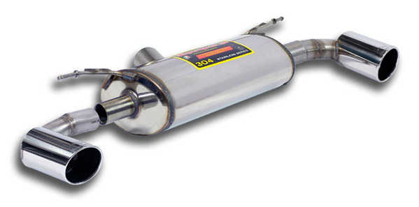 T#189791 - 987924 - F30 328i, F32 428i Supersprint Performance Muffler for Dual-Exhaust Conversion (for 335i bumper) - Supersprint - BMW