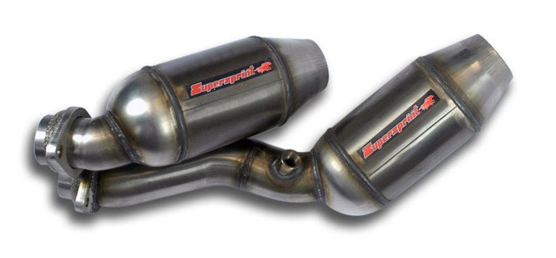 T#189829 - 044021 - E46 M3 Supersprint Metallic Sport Cat Replacements for US M3 Header - Supersprint - BMW