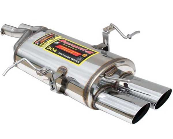Supersprint E46 325/330i/Ci/ZHP Supersprint Performance Muffler (Oval Tips) 787407