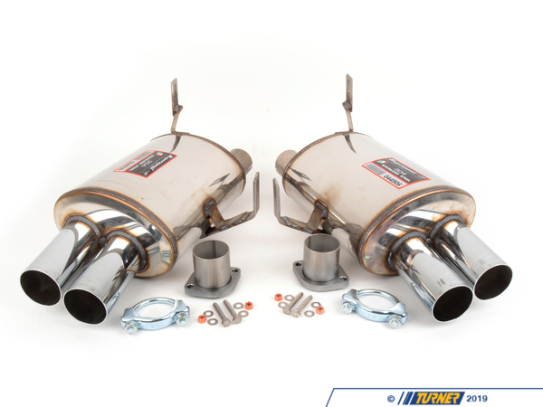 Supersprint Supersprint Racing Muffler Set - 4x70mm Tips - Z4 M Coupe/Roadster TMS1274