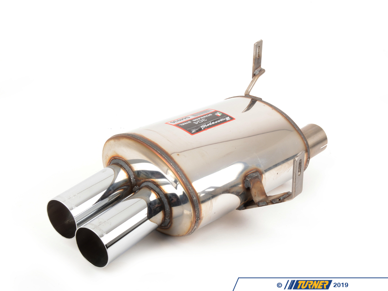 044936 E85 Z4 M Supersprint Stainless Left Racing