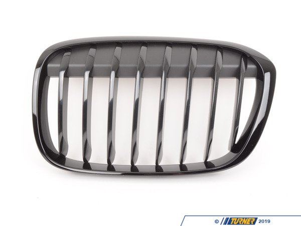 T#221001 - 51712407733 - Genuine BMW Trim Grill, High-Gloss Black - 51712407733 - Genuine BMW -