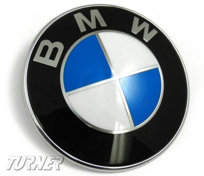 51148132375 Genuine Bmw Hood And Or Trunk Emblem Fits