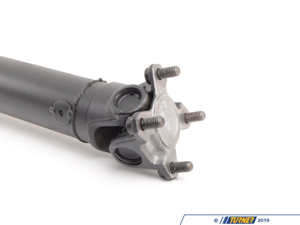 T#5012 - 283X - Driveshaft - E36 328i/is/ic - Manual Transmission 1996-1998 - Got a vibration through the driveline on your BMW? Did you know that the u-joints are not replaceable on a factory driveshaft?Our remanufactured driveshafts allow for future replacement of u-joints and are rebuilt to a higher specification than the factory driveshaft.We start with OEM u-joints and then machine yokes onto the driveshaft to allow for future u-joint replacement.All bushings, universal joints, center bearings are replaced with new hardware (flex discs are not included but available separately).The whole unit is then dynamically balanced on a precision Axiline Balancer.Included in the price of the driveshaft is UPS return label, so you can return your core for refund quickly, easily and without additional expense.This item fits the following BMWs:1996-1998  E36 BMW 328i 328is 328icIncludes $180core charge to be refunded on return of your rebuildable core. - Turner Motorsport - BMW