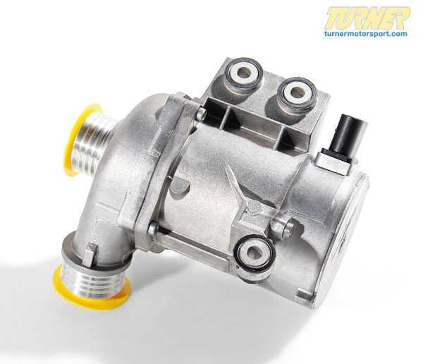 T#348906 - 11517586925 - OEM Pierburg Water Pump - 128i, 325i/328i/330i, 525i/528i/530i, X3, X5, Z4 3.0 (N51 N52 Engine) - Pierburg - BMW