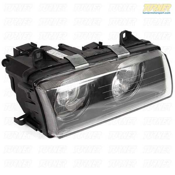T#146731 - 63121393272 - E36 Euro Headlight - Right - E36 318i 323i 325i 328i M3 - (NO LONGER AVAILABLE) - ZKW - BMW