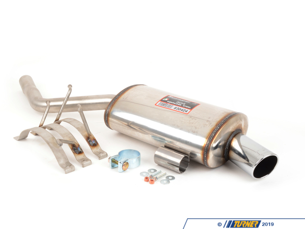 T#4216 - 830424 - Supersprint Stainless Steel Sport Exhaust (Mini Cooper) - Free ground shipping!The Supersprint Exhaust for the MINI Cooper includes rear muffler and connecting pipe. This is a 100% stainless steel complete cat-back system.Applications:2001-2006 MINI R50 Cooper - Supersprint - MINI
