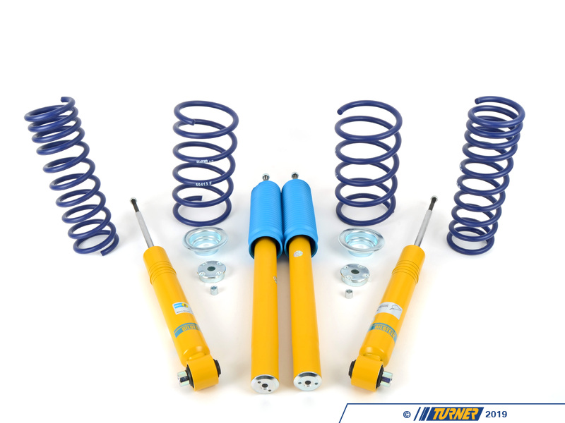 T#21494 - TMS21494 - E34 535i Bilstein/H&R Sport Suspension Package - Packaged by Turner - BMW