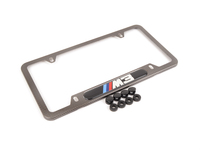 Genuine BMW Carbon Fiber License Plate Frame - M3