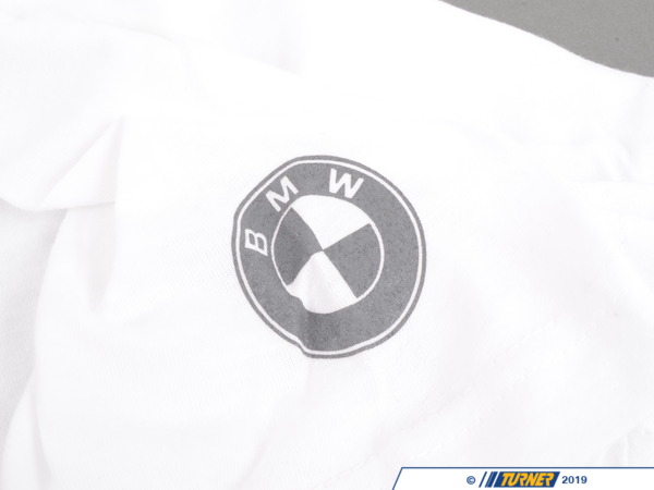 T#166531 - 80902244638 - Genuine BMW Unisex Power Tee-white - 80902244638 - Genuine BMW -