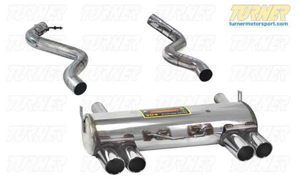 T#1853 - 980706 - E92 M3 Coupe, E93 M3 Cabrio Supersprint Performance Muffler - Supersprint - BMW