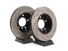 T#12028 - 34111162282CDS - Cross-Drilled & Slotted Brake Rotors - Front - E36 (except M3), E46 323i/Ci, Z3 (except M) (pair) - StopTech - BMW