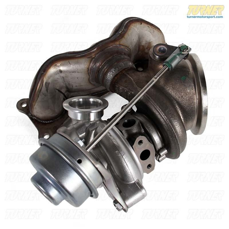 11657649291kt  Xi N54 Oem Rear Remanufactured Turbocharger With Exhaust