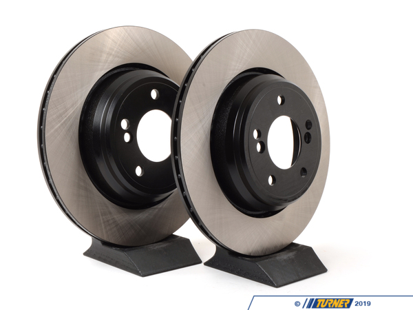 T#4533 - 34212229379C - Rear Brake Rotors - US Spec - E39 M5 & E46 M3 (Pair) - Centric - BMW