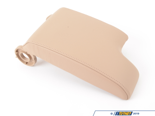 T#86101 - 51168229236 - Genuine BMW Armrest Upper Leather Hellbeige 2 - 51168229236 - E46 - Genuine BMW -