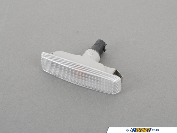 T#3600 - 63142496299PAIR - E39 Euro Clear Side Markers (pair) - Turner Motorsport - BMW