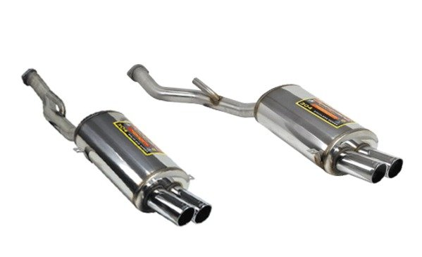 T#1881 - 786016-786036 - Z3 M Roadster/M Coupe Supersprint Performance Mufflers (Left & Right Set) - Supersprint - BMW