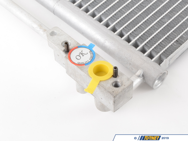 T#16337 - 64536914216 - OEM Hella BMW Heater & A/C Condenser -- E53 X5 3.0 4.4 4.8 - Be sure when you replace your leaking or damaged A/C Condenser that you can trust the quality of the part you are buying. Hella is a direct supplier for BMW and as such is an extremely reliable source for high quality parts for your vehicle. OEM Hella replacement for BMW part #64536914216.Hella is a premium manufacturer that supplies automotive parts to numerous car brands across the world. Everything from electrical to mechanical genuine parts have been made and supplied directly to BMW before the vehicles ever leave the production floor. Their high quality, long lasting parts have made them a trusted brand chosen to help keep your BMW on the road for many years to come.As a leading source of high performance BMW parts and accessories since 1993, we at Turner Motorsport are honored to be the go-to supplier for tens of thousands of enthusiasts the world over. With over two decades of parts, service, and racing experience under our belt, we provide only quality performance and replacement parts. All of our performance parts are those we would (and do!) install and run on our own cars, as well as replacement parts that are Genuine BMW or from OEM manufacturers. We only offer parts we know you can trust to perform! - Hella - BMW