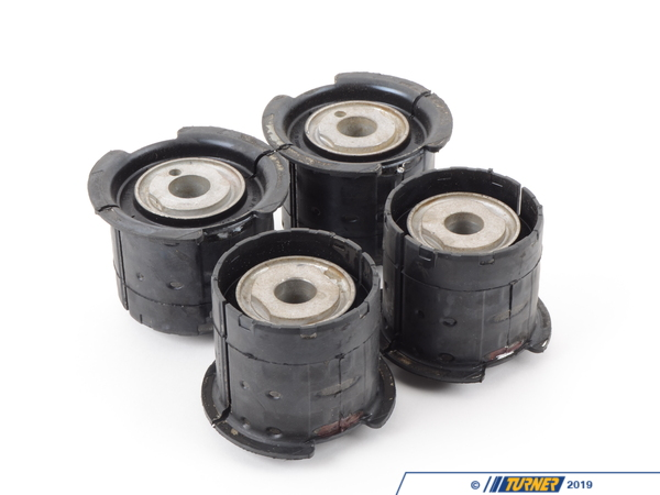 T#12061 - TMS12061 - Rear Subframe Bushings/Mounts - Set - Stock M3 Rubber - E82, E9X - Genuine BMW - BMW
