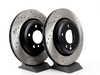 T#12041 - 34201166073CDS - Cross-Drilled & Slotted Brake Rotors - Rear - E46 330i 330Ci 330xi (pair) - StopTech - BMW