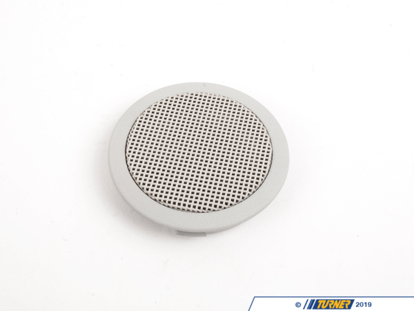 T#102357 - 51432264491 - Genuine BMW Loudspeaker Cover Lotosweiss - 51432264491 - E36 - Genuine BMW -