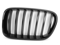 Genuine BMW Black Center Grills - F25 X3 2011-2014 (Pre-Facelift)