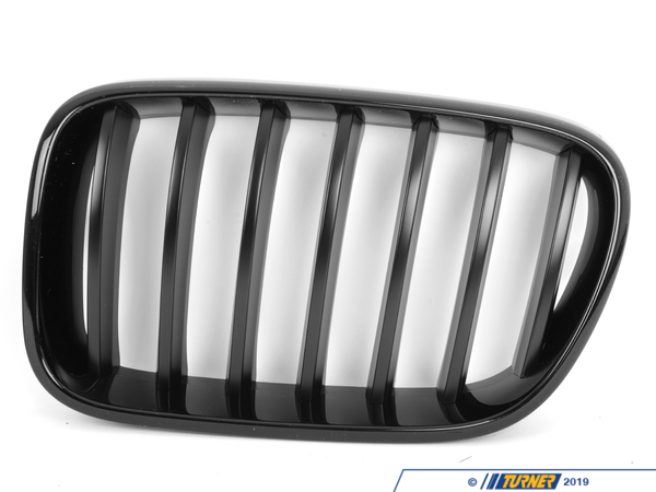 T#21516 - F25-BLACK-GRILLS - Genuine BMW Black Center Grills - F25 X3 2011-2014 (Pre-Facelift) - Genuine BMW - BMW