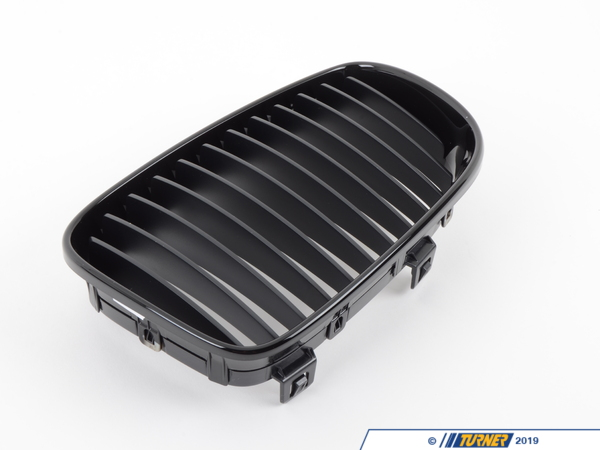 "T#3848 - TMS3848 - Genuine BMW Black Center Grills - E82/E88 1 Series - These are Genuine BMW front center ""kidney"" grills that install in minutes, eliminating the chrome and giving you the blacked out ""shadow"" look that has become so popular and attractive. These work on any 1 series, including 128i and 135i (both coupe and convertible) and are the highest quality, as you'd expect from Genuine BMW factory parts. Kit includes one left grill and one right grill. These grills fit all 2008 and newer E82 1 Series coupe and E88 1 series convertible, including 128i and 135i.  - Turner Motorsport - BMW"