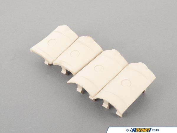 T#132488 - 52209133162 - Genuine BMW Cover Kit Isofix Creambeige - 52209133162,E60 M5 - Genuine BMW -