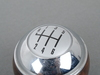 T#52872 - 25117542273 - Genuine MINI Gear Shift Knob Wood/chrome/ - 25117542273 - Genuine Mini -