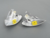 T#1082 - TMS1082 - Front Turn Signals (Pair) - Euro Clear - E46 Sedan 1999-01 - Turner Motorsport - BMW