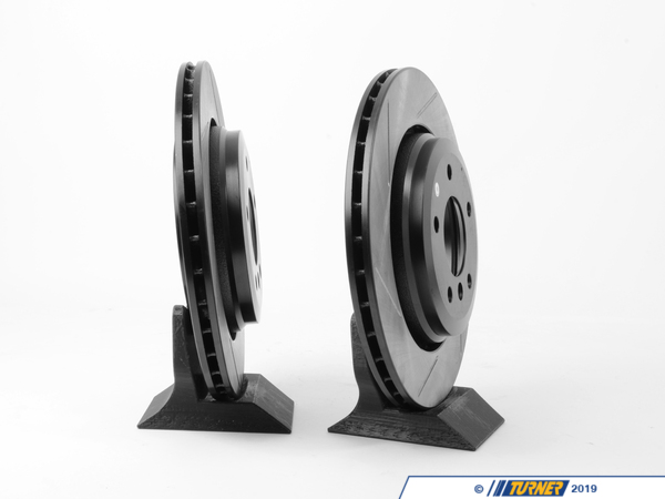 T#3576 - 34201166073GS - Gas-Slotted Brake Rotors (Pair) - Rear - E46 330i/Ci - StopTech - BMW