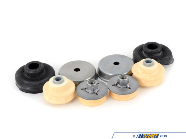 T#11986 - E9X-URSM - Rear Shock Mounts (RSM) - Upper - OEM Rubber - E82, E9X (non-M) (Pair) - Turner Motorsport - BMW