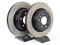 Gas-Slotted Brake Rotors (Pair) - Rear - E90 330i 330xi 335i 335xi E92 335i 335xi
