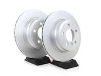 Rear Brake Rotors - E70 X5 3.0si, 35i, E71 X6 35i, F15 X5 35d, 35i(pair)