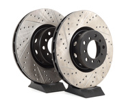 Cross-Drilled & Slotted Brake Rotors - Front - E39 M5 (US Spec) (pair)