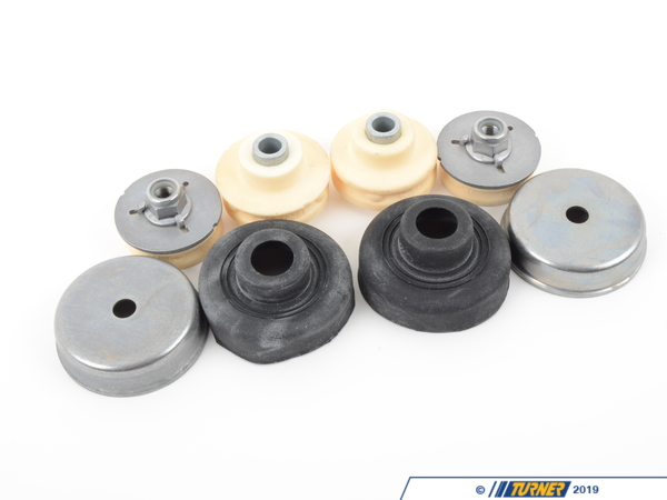 Packaged by Turner OEM Rear Shock Mounts (RSM) - Upper - OEM Rubber - E82 1M, E9X M3 (not EDC) (Pair) TMS11954