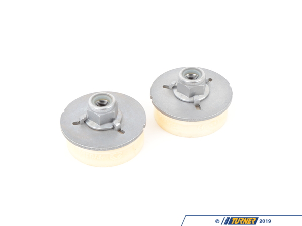T#11954 - TMS11954 - OEM Rear Shock Mounts (RSM) - Upper - OEM Rubber - E82 1M, E9X M3 (not EDC) (Pair) - Packaged by Turner - BMW