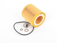 T#393872 - 11427566327S55 - OEM Mahle/Mann Oil Filter With Drain Plug - F80 M3, F82 M4 - Packaged by Turner - BMW