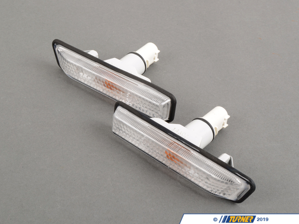 T#5436 - 63132492179-180 - Euro Clear Side Markers (pair) - E36 318i/is 325i/is 328i/is M3 97-99 - Euro clear side marker flashers (pair) for all BMW E36 sedan, coupe, convertible, and hatchback models. Excellent fit and finish from OEM suppliers and manufacturers (Bosch, Hella, ZKW, Magnetti-Marelli, etc). These are a direct replacement for your stock yellow side markers. Theres no question the Euro look is more pleasing to the eyes than the bright orange of the stock flashers. Nearly all of our lenses are made in Europe. Easy installation that takes just minutes. Amber bulbs included or choose the Stealth bulbs for a cleaner look.  These lights are interchangeable with part numbers 63137164491 & 63137164492. The 1997-99 cars have no border around the lens.This item fits the following BMWs:1997-1999  E36 BMW 318i 318is 318ti 318ic 323is 323ic 328i 328is 328ic M3 - Turner Motorsport - BMW