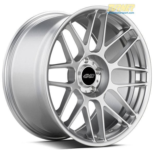 "T#201399 - ARC819105ET22HS - APEX ARC-8 19x10.5"" ET22 Silver Wheel 22.95lbs - APEX Wheels - BMW"