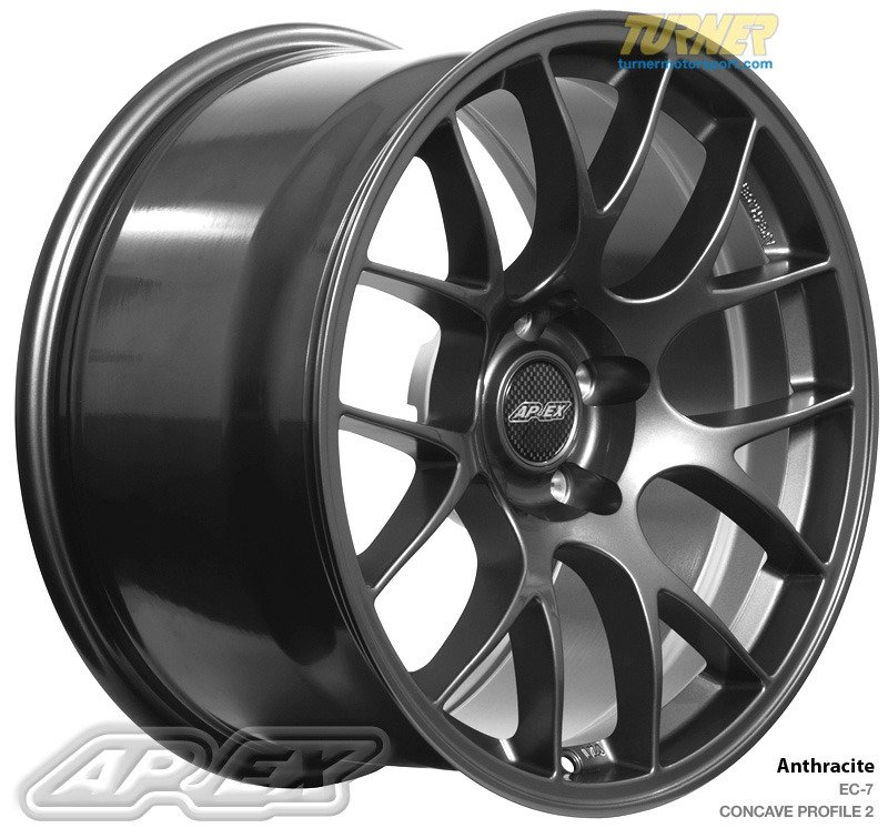 Ec71895et43an Apex Ec 7 18x9 5 Quot Et43 Anthracite Wheel 21
